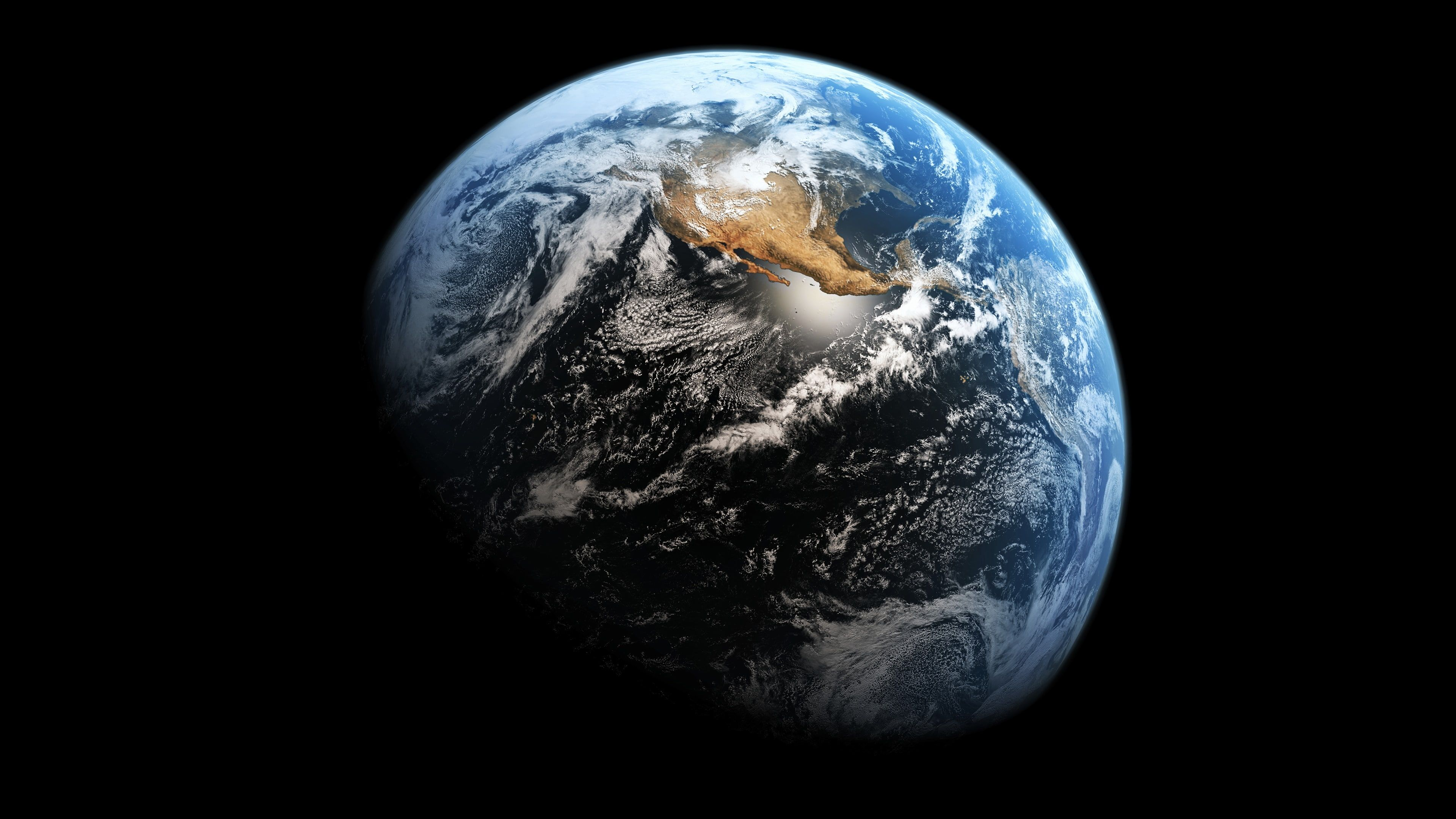 Planet Earth World Blue Marble Space Globe 4k Wallpaper Hdwallpaper Desktop Hintergrundbild Weltraum Earth And Space Hintergrund Fur Macbook Air