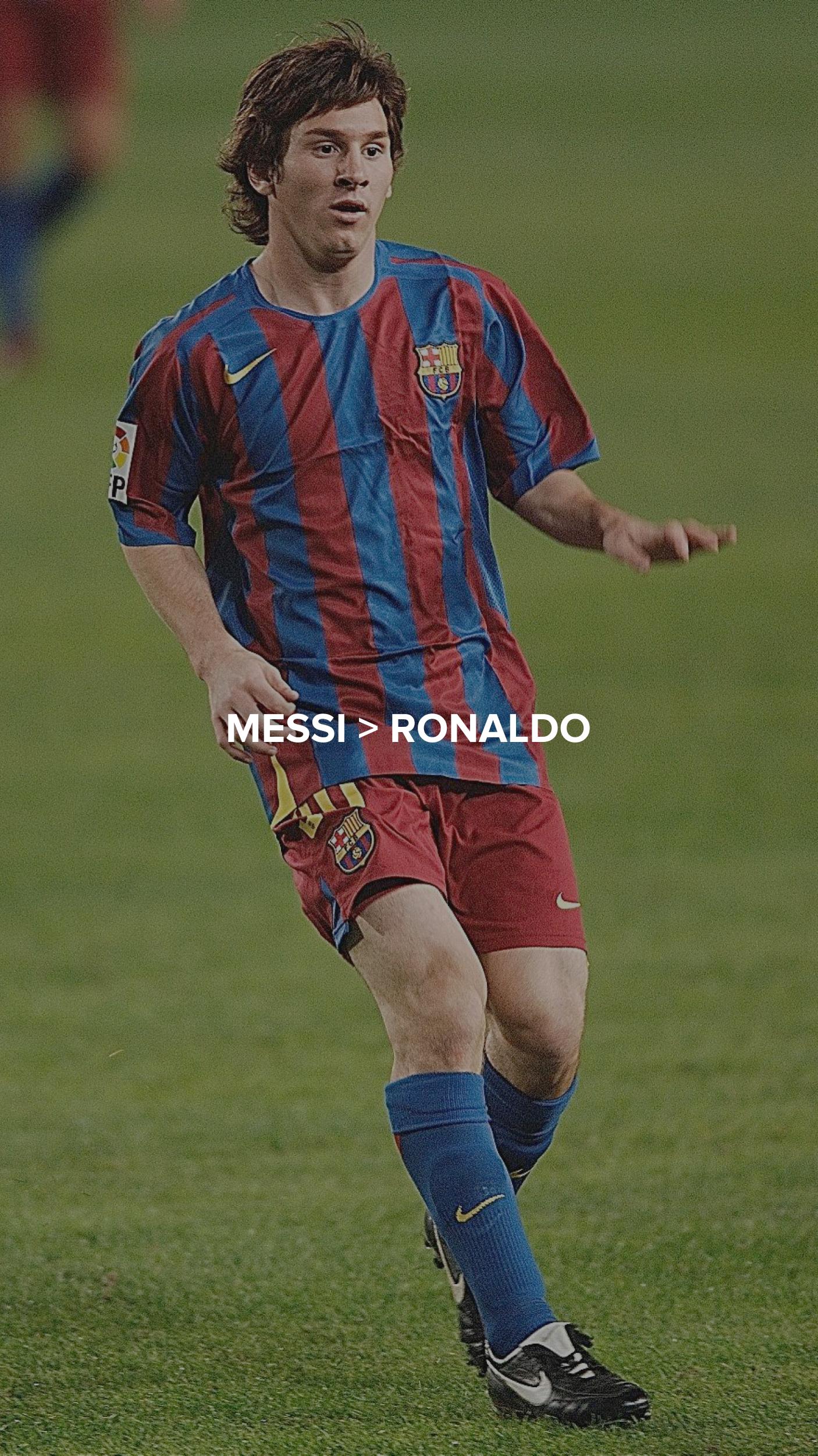 Messi Ronaldo Soccer Wallpaper Messi Ronaldo Mens Tops