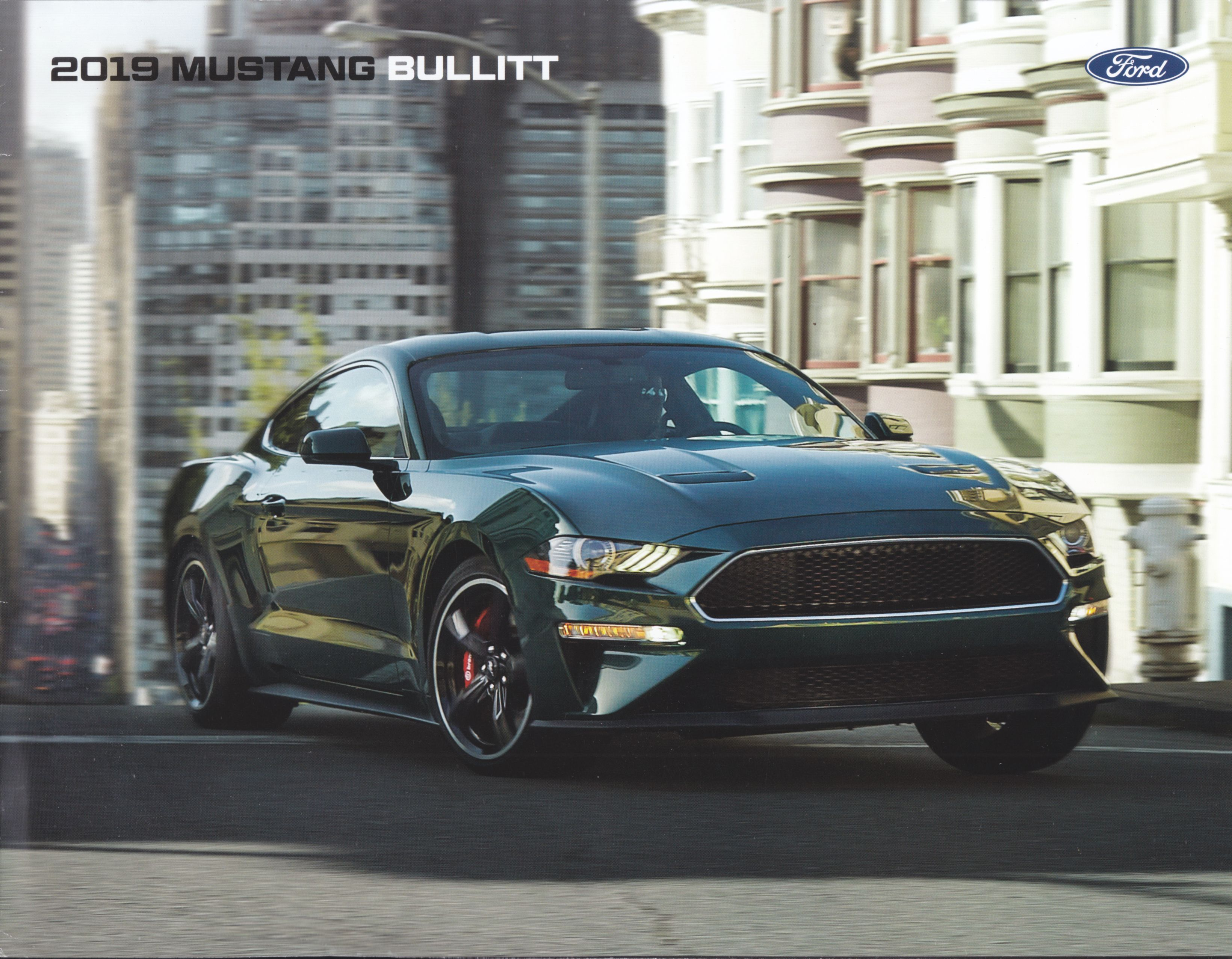 Ford Mustang Bullitt 2019 4 Page Us Sales Brochure