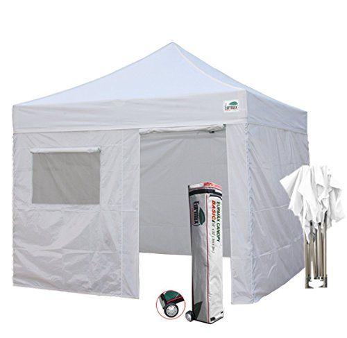 Best Camping Tents Eurmax 10x10 Feet Ez Pop Up Canopy