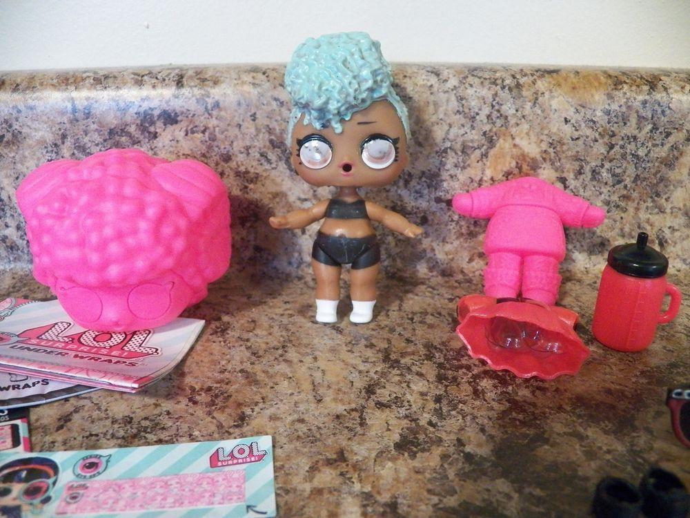 Details About Lol Surprise Doll Under Wraps Series Heat Color