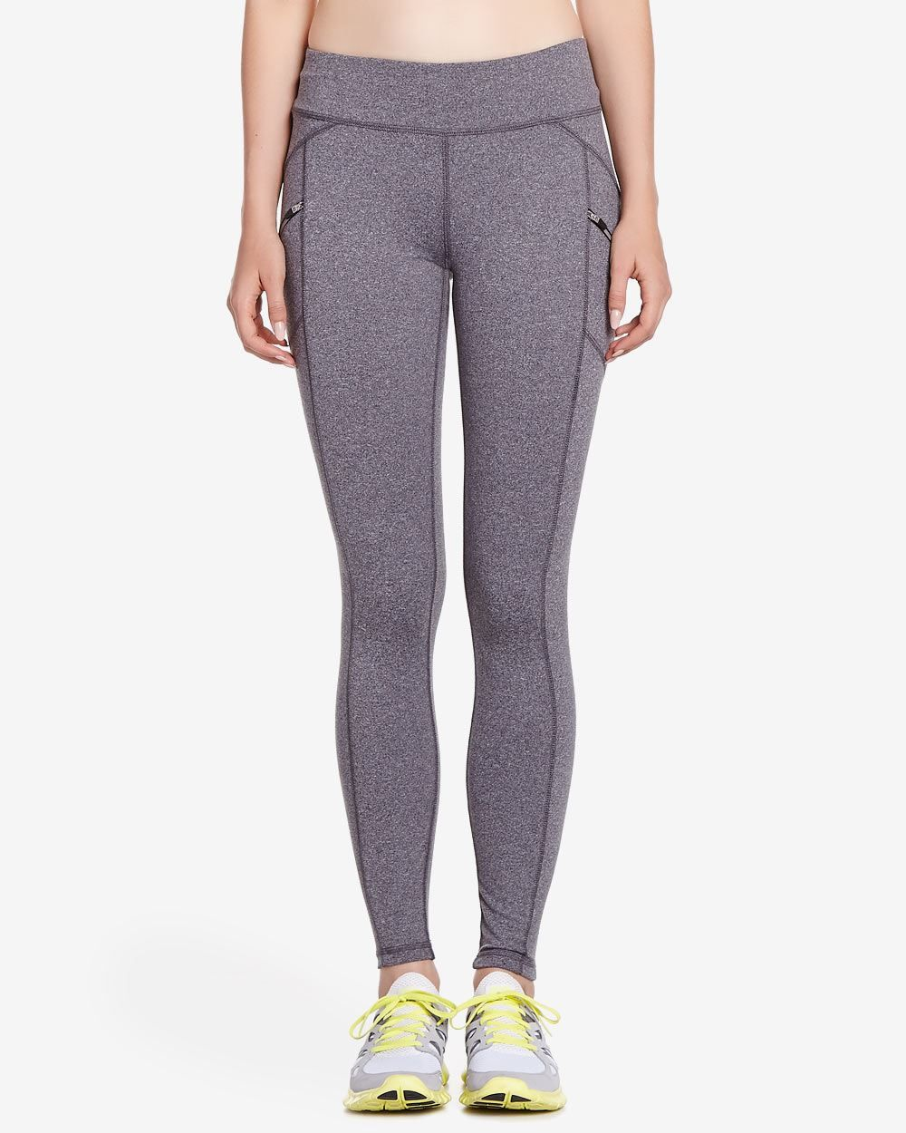 65e1ef78befe92 Slip into this Hyba Smooth Mover Legging and experience comfort like never  before. Featuring two side zip pockets for your on-the-go essentials and  super ...