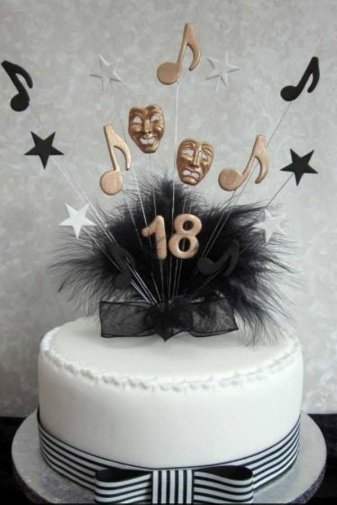 Musical Theatre Cake Topper Theatre Themed Cake For All Your