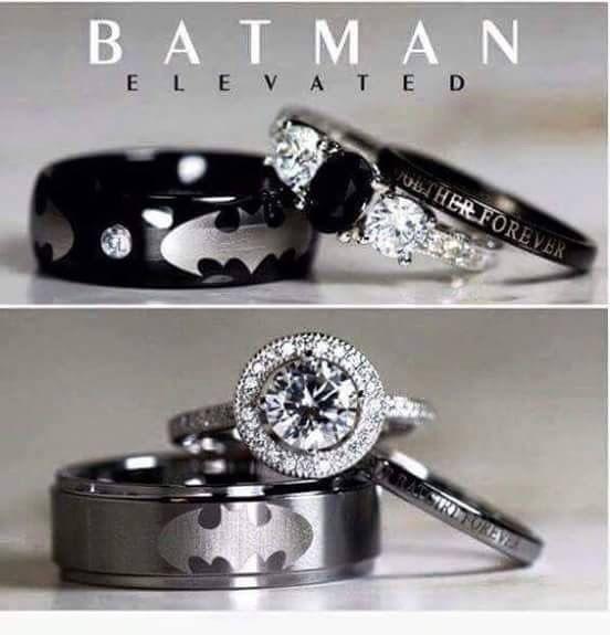 Para renovacin de votos boda Pinterest Batman Wedding and