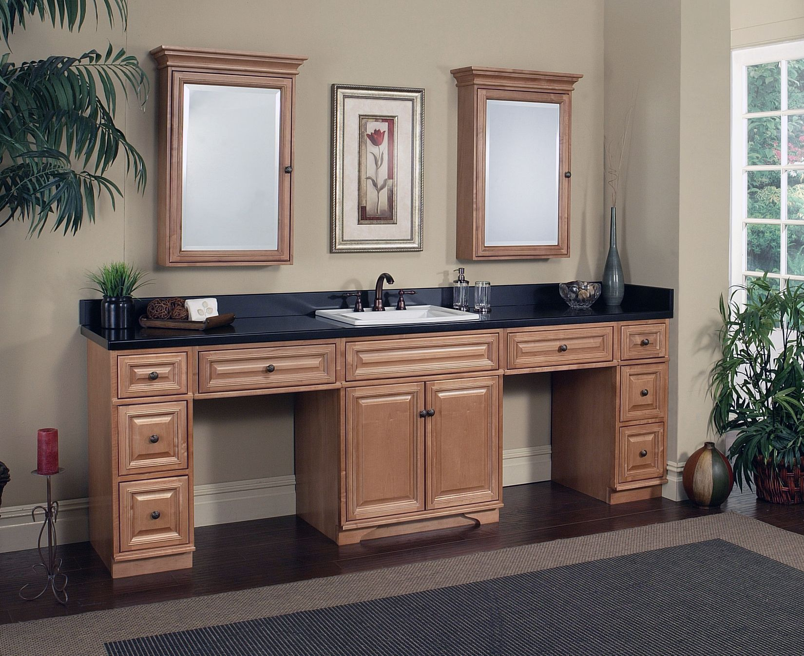 . The Briarwood modular vanity collection from Sunny Wood  Find out
