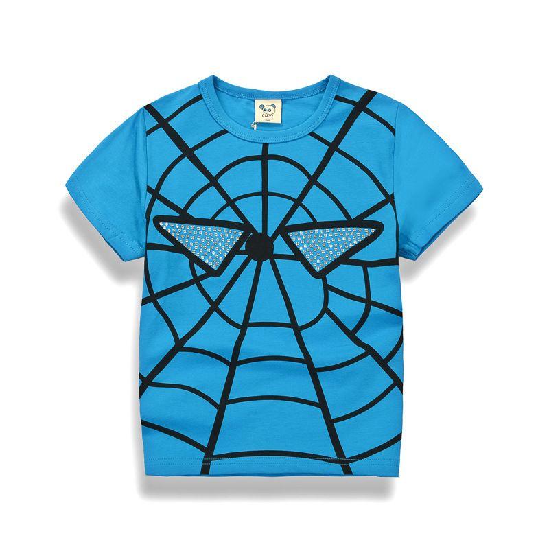 >> Click to Buy << Newest summer  Baby Boys short Sleeve T Shirt Kids  blue yellow Shirt Best Quality Children Costume Sweater Shirt 100% Cotton #Affiliate