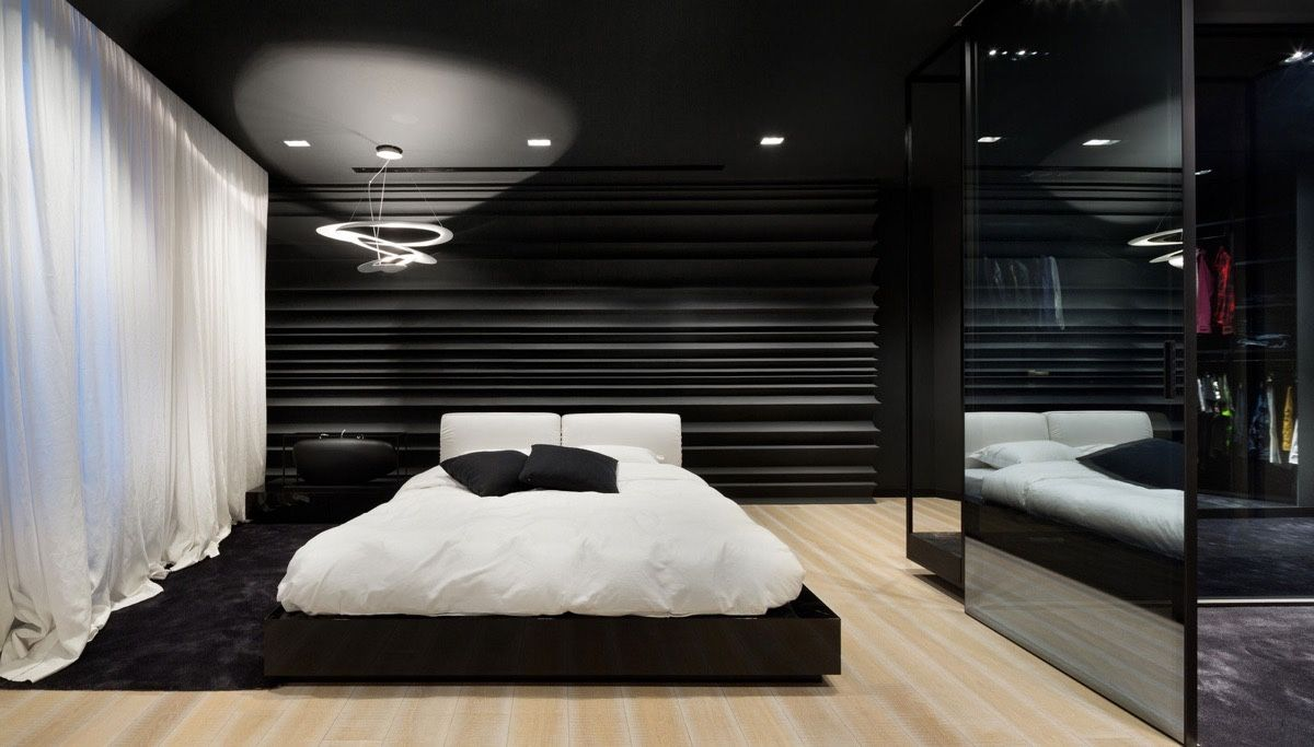40 Beautiful Black White Bedroom Designs Black Bedroom Design White Bedroom Design Black Bedroom Decor