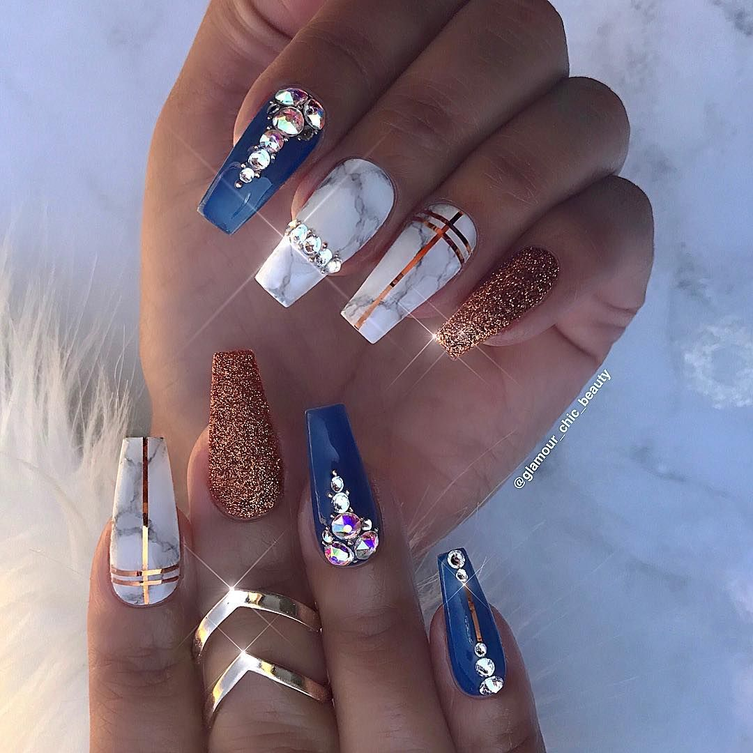 Pin by Noe Aiona on Nails  Pinterest  Luxury nails Glamour and Luxury