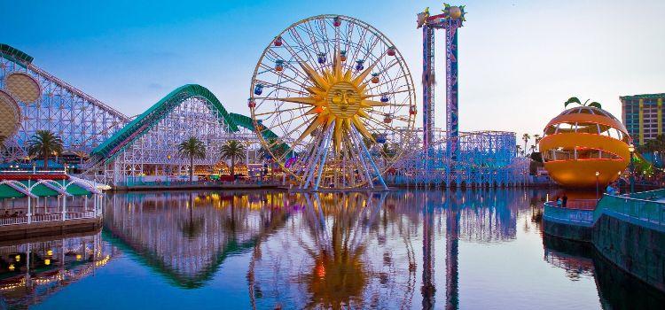 Disneyland Los Angeles en un viaje a Estados Unidos costa oeste