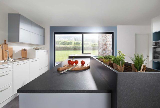 Inselküche mit Granit Kücheninspirationen Pinterest - häcker küchen systemat