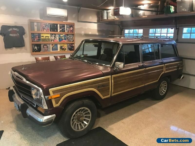 Car for Sale 1987 Jeep Wagoneer