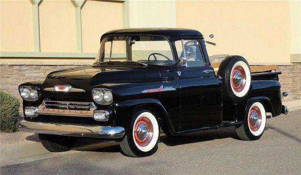 1958 Chevrolet Apache Custom Pickup Jpm Entertainment