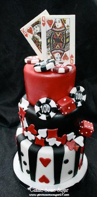 Si Tu Futuro Esposo Le Gusta El Poker Aceptarias Una Torta Asi En