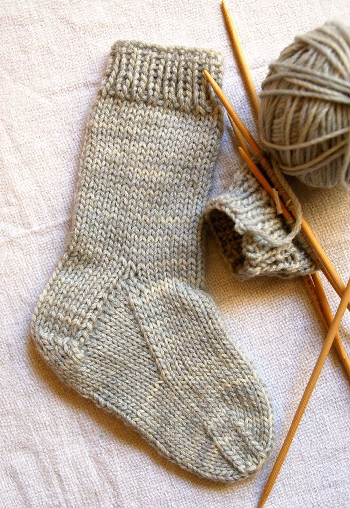 Sock Knitting Patterns Kids Sock Knitting Pattern Free | Knitting ...