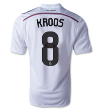 14-15 Real Madrid Football Shirt Cheap KROOS #8 Home Replica Jersey  [1407290346