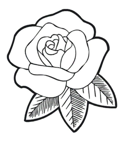 Rose Coloring Pages Download Cute Roses Coloring Page Or Print