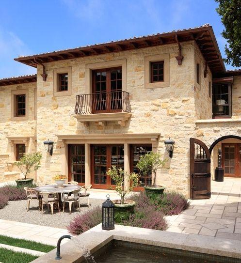 Mediterranean Tuscan Style Home House: Old World, Mediterranean, Italian