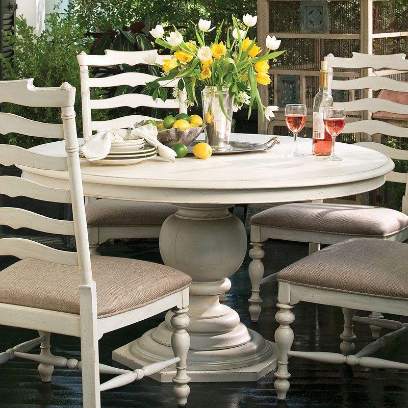Paula Deen Home Pedestal Table Linen Round Pedestal Dining Table Round Pedestal Dining Pedestal Dining Table
