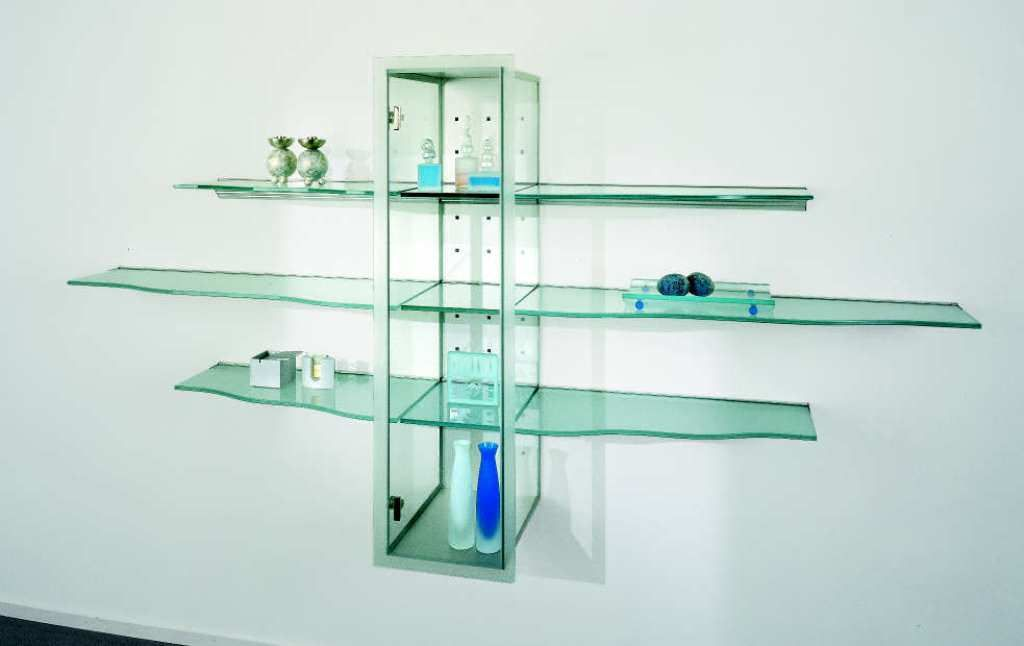 Floating Gl Shelves Also Corner Shelf Brackets Wall Mounting For