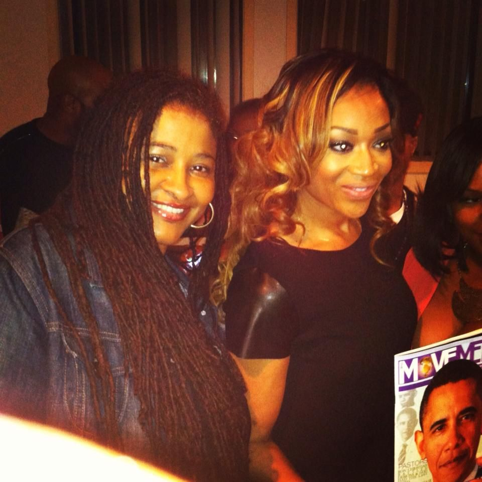 """Reality star of VH1's hit show """"Love & Hip Hop in Atlanta"""" MiMi Faust before the infamous sex tape after her interview with The Movement Magazine."""