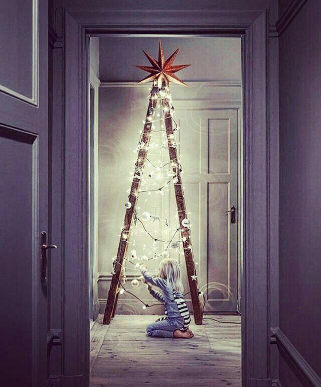 Árvore de Natal alternativa  @mychristmasfairy
