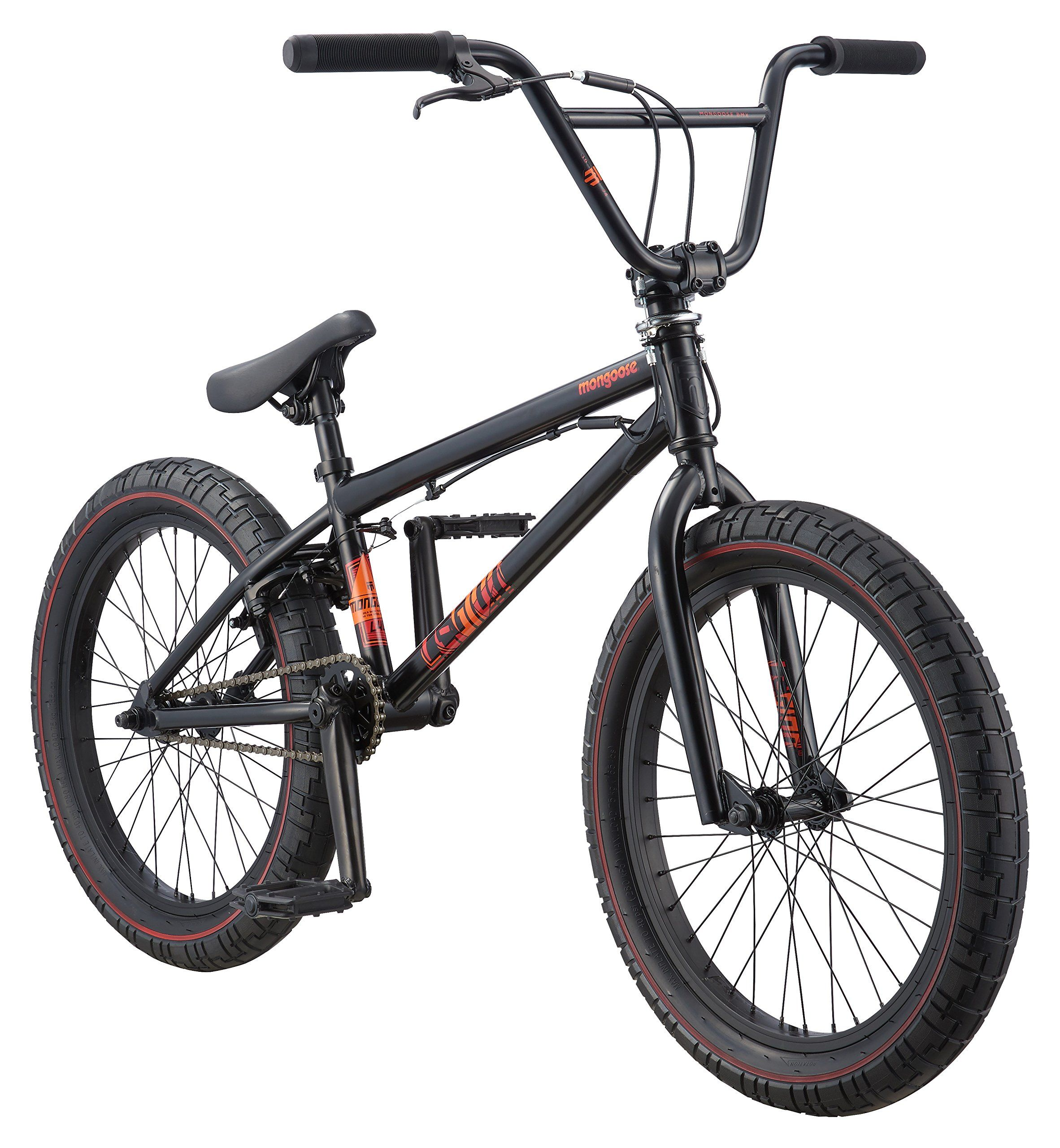 Mongoose Legion L40 20 Wheel Freestyle Bike Black One Size Mongoose Hi Ten Bmx Frame And Fork Is Comfortable And Fits Modern Bmx Geo Bmx Bikes Best Bmx Bmx