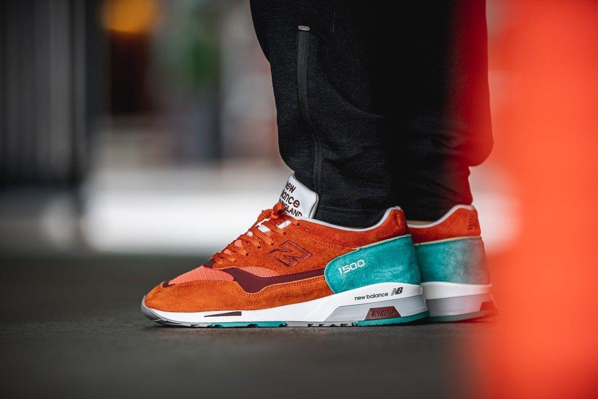 1219caefc987 ... M1500SU « Coastal Cuisine Orange » Credit   Afew —  newbalance  cuisine   sneakerhead  sneakersaddict  sneakers  kicks  footwear  shoes  fashion   style
