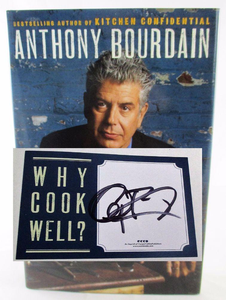 Kitchen Confidential Book | Anthony Bourdain Medium Raw Kitchen Confidential Cookbook Author