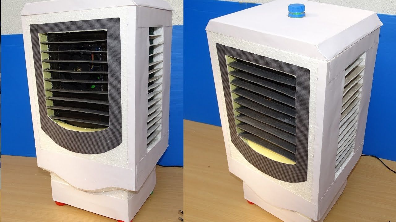 How to Make Air Cooler at Home ( Low Cost) Small cooler