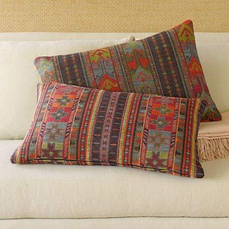 Gumps tribal pillows For the Home Pinterest