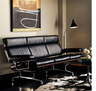 Eames 3 Seater Sofa By Herman Miller