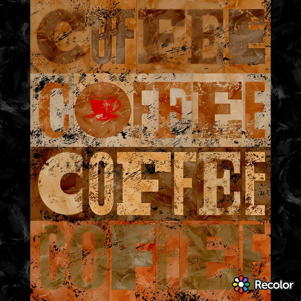 Coffee recolor app My Digital Colorings Color, Baby