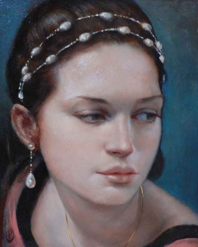 Ken Hamilton Paintings Artodyssey Ken Hamilton Portrait Portrait Art Female Art