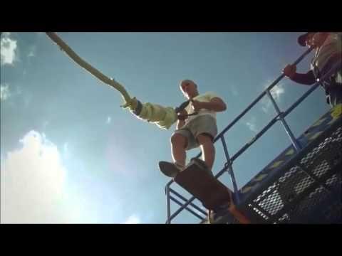 Incredible Damien Walters Bungee Jump | SPORT & WORLD