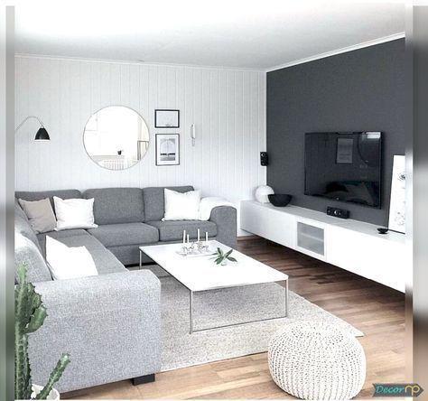 72 zeitgenössische & moderne Wohnzimmer-Design-Ideen für 2019 #modernlivingroo…