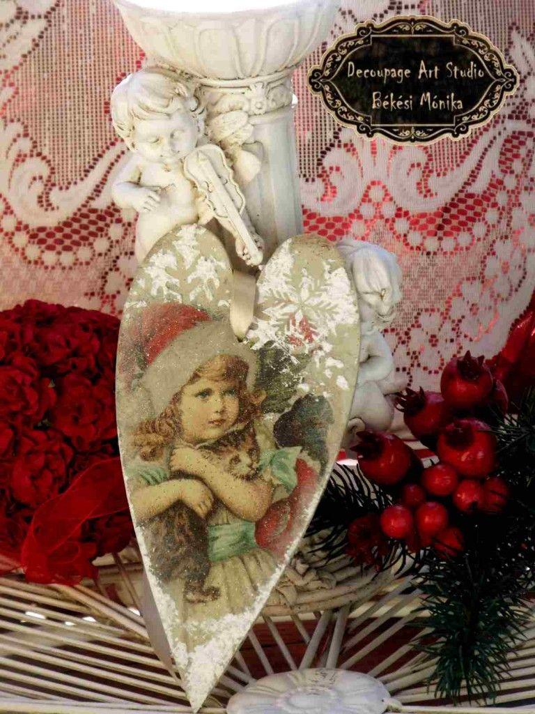decoupage karácsonyi díszek 2014. 03   Decoupage Art ...