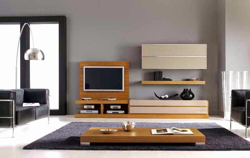 60 Model Rak TV Minimalis | Desainrumahnya.com | Desain ...