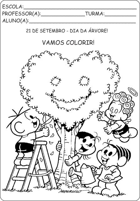 Colorir Dia Da Arvore Png 447 640 Dia Da Arvore Atividades