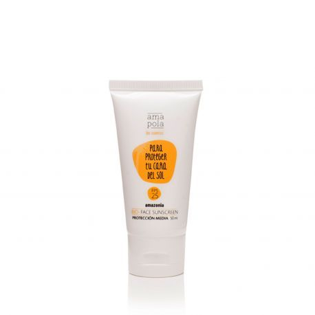Protector Solar Facial Bio Fps Proteccion Media Amapola