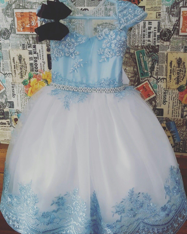 Vestido Tematico Alice No Pais Das Maravilhas Xiquitas