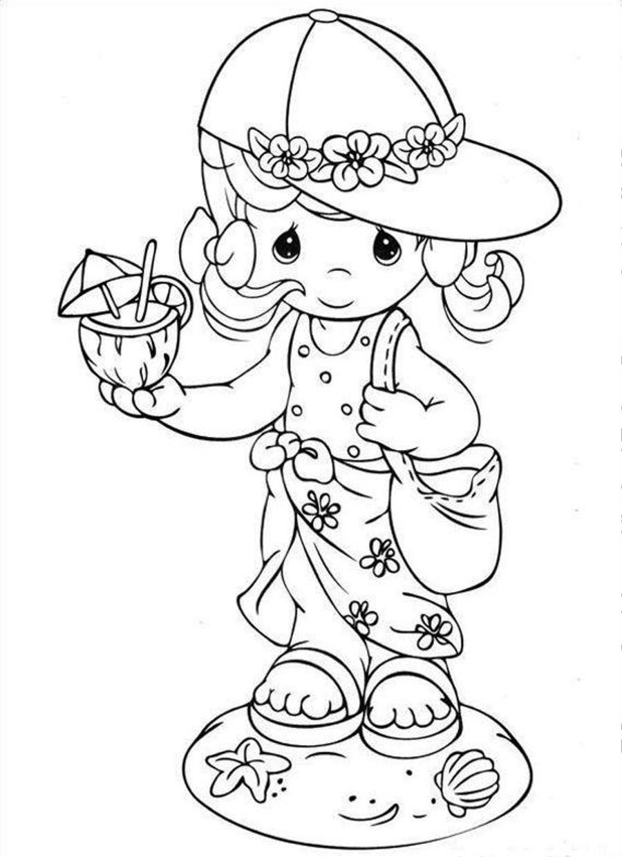 Precious Moments Summer Coloring Pages - Bing Images ...
