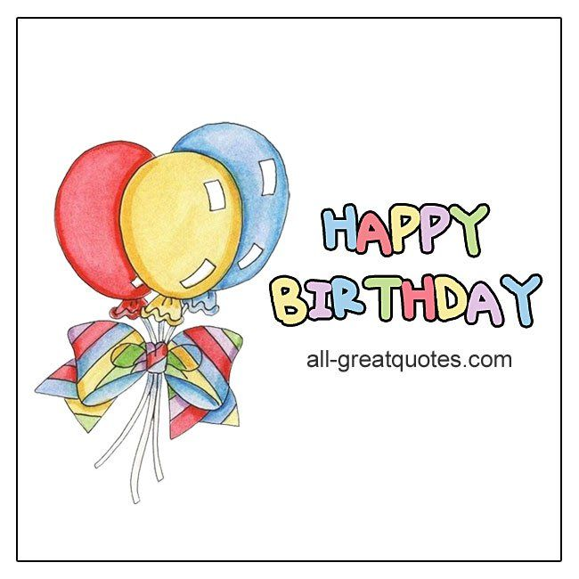 Happy Birthday Share Greeting Cards For Facebook
