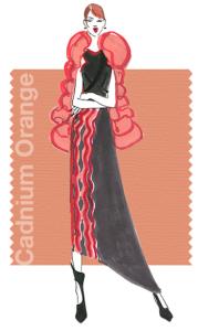 Fall 2015 - fashion colors: Cadmium Orange