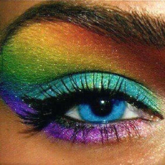 Consejos para usar Rainbow Makeup – Rainbow Makeup Ideas