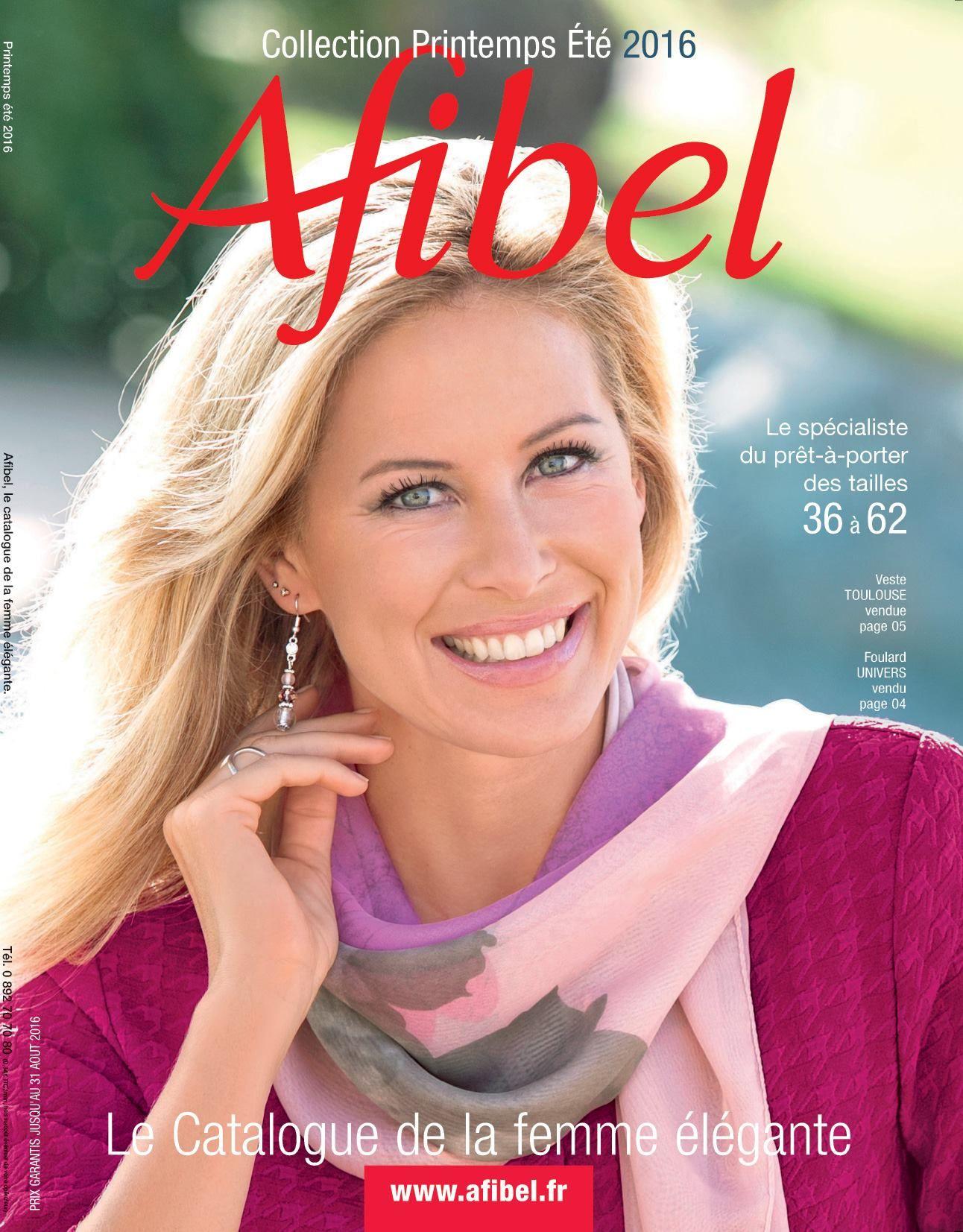Catalogue AFIBEL Printemps Été 2016 à recevoir
