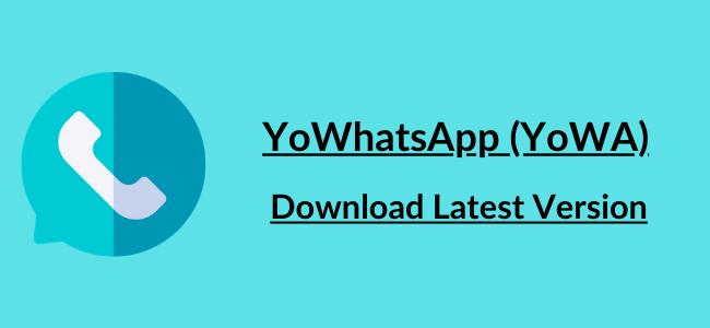 Yowhatsapp Apk Download Version New Emojis Indonesian Language