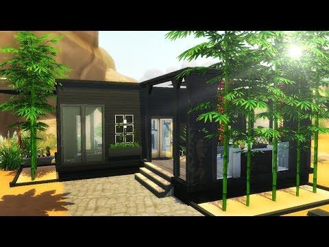 SPLIT LEVEL MODERN TINY HOUSE The Sims 4 Speed Build