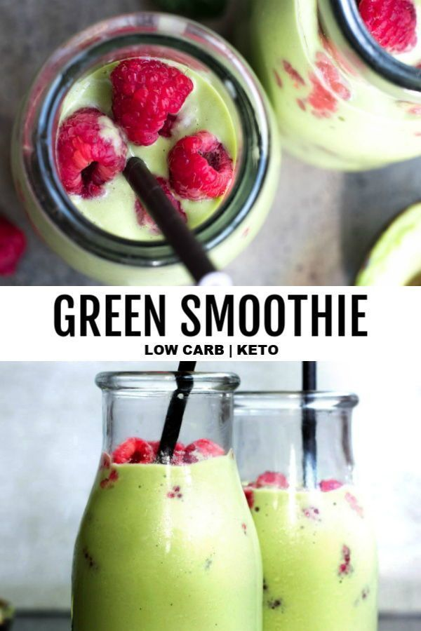 Low Carb Green Smoothie Recipe With Images Low Carb Green
