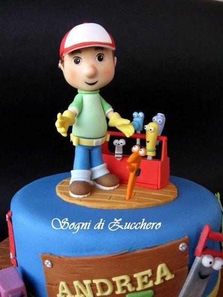 Handy Manny  Cake by SogniDiZucchero