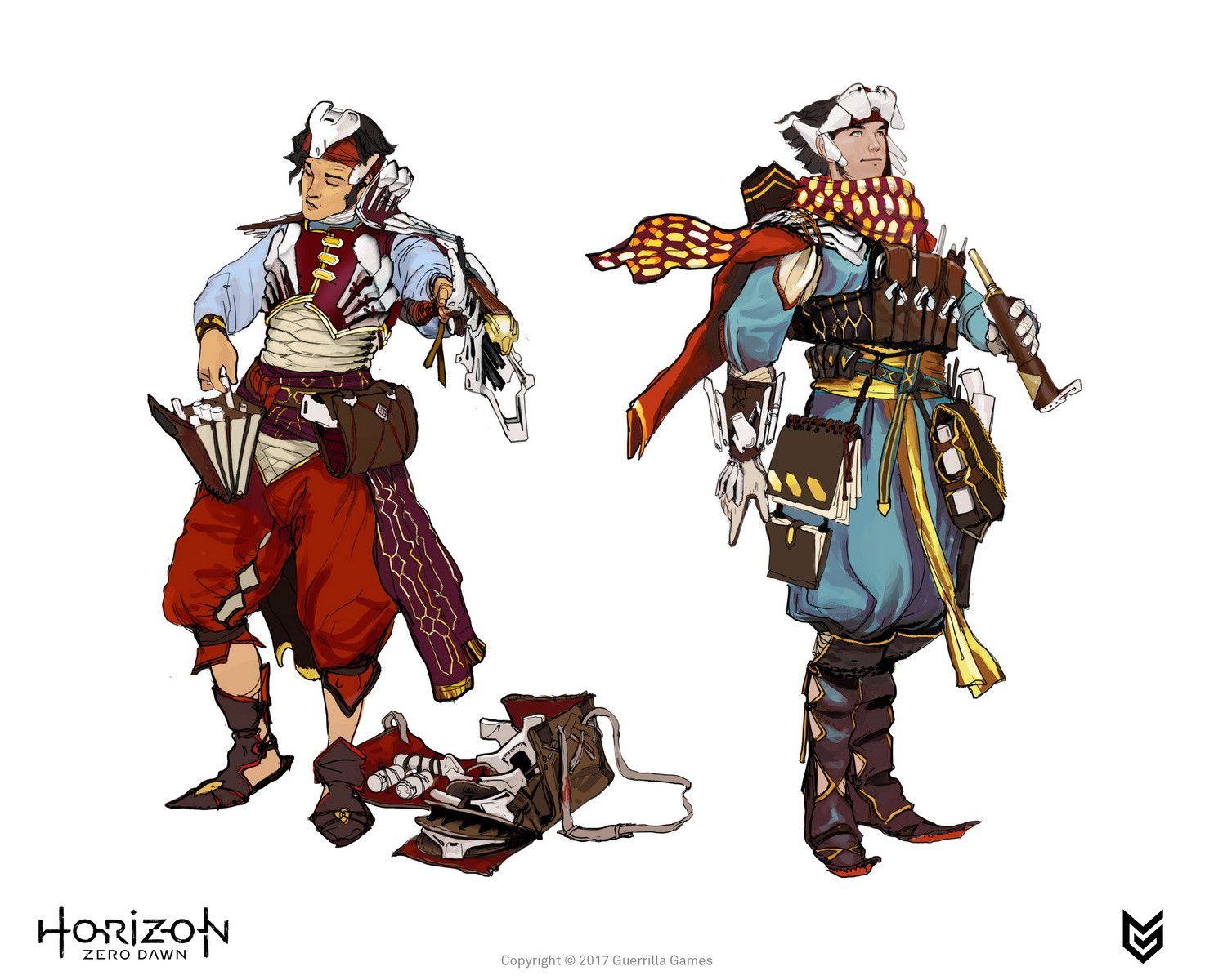 Artstation Horizon Zero Dawn Tribes Concept Art Ilya